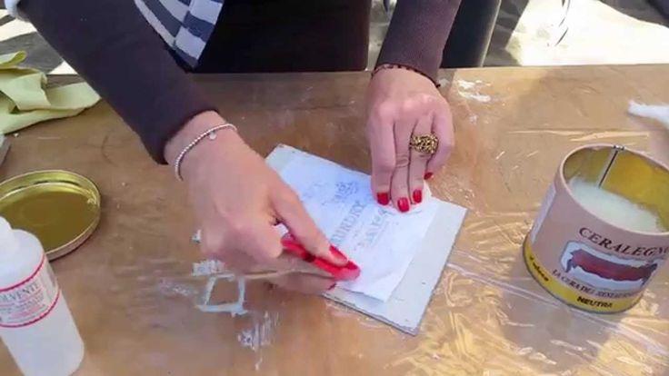 #TUTORIAL - Trasferimento immagine: metodo con solvente per unghie - DIY...