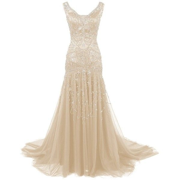 Mermaid Wedding Dresses Polyvore : Images about gowns wedding cocktail dresses on