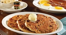 Granola pancakes from Cracker Barrel