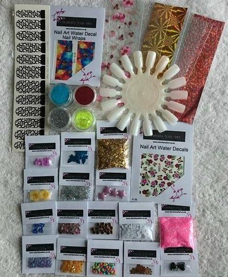 Charlies Nail Art - In the name of nail art kit, £9.99 (http://www.charliesnailart.co.uk/in-the-name-of-nail-art-kit/)
