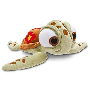 Disney Squirt Plush - Finding Nemo - 12'' | Disney StoreSquirt Plush - Finding Nemo - 12'' - This cool little dude is sure to make a splash. Hard to resist a turtle like this when he's such a softie.