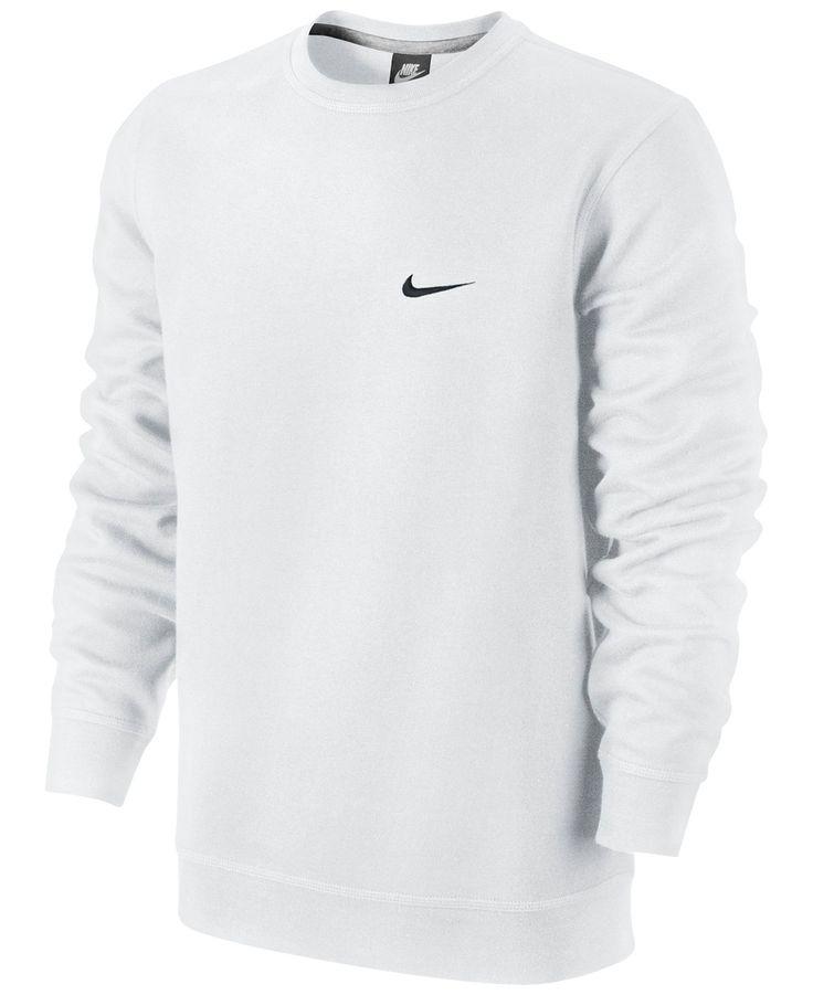 Nike Classic Fleece Crew Pullover - Hoodies & Sweatshirts - Men - Macy's