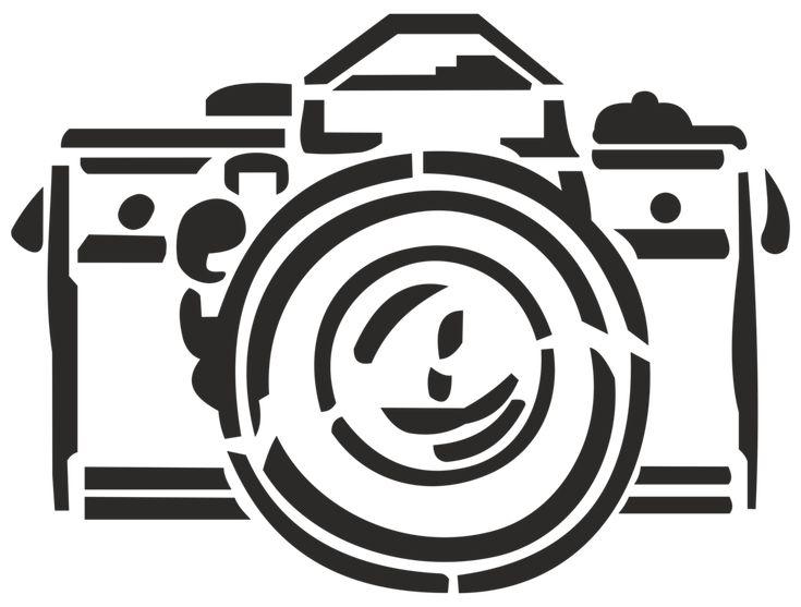 Photo camera (stencil) by Silver2012 on DeviantArt