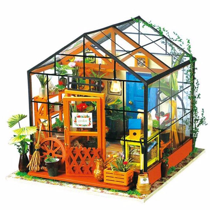Casa de Muñecas en miniatura Casa De Muñecas De Madera Miniatura Jardín 3D Rompecabezas de Juguete Modelo DIY <font><b>Kits</b></font> Dulce Modelo Con Luz de Efecto Invernadero #Casa, #Muñecas, #miniatura, #Madera, #Miniatura, #Jardín, #Rompecabezas, #Juguete, #Modelo, #-font-b-Kits-b--font-, #Dulce, #Efecto, #Invernadero