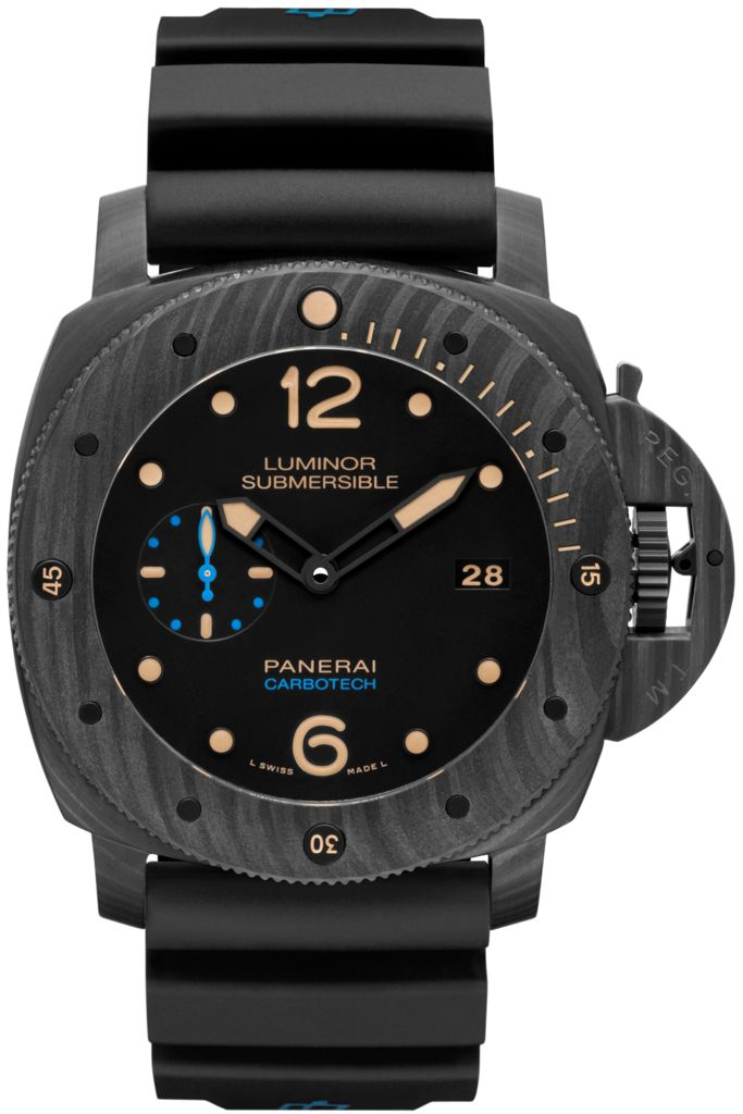 Luminor Submersible 1950 Carbotech™ 3 Days Automatic - 47mm PAM00616 - Collection Luminor 1950 - Officine Panerai Watches