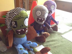 """It's been zombies in my head for the last several weeks. I decided to let Conor have his first """"friends"""" party for his birthday this year..."""