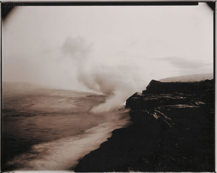 Linda Connor (American, b. 1944) Lot of Two Images of Hawaii: Lava Entering the…