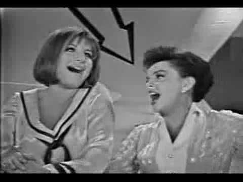 Judy Garland & Barbra Streisand: Get Happy / Happy Days Are Here Again // Superb. They actually got me happier.