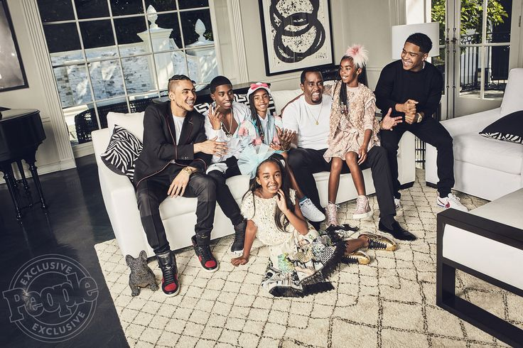 awesome Inside Sean Combs' Life at Dwelling with Six Children