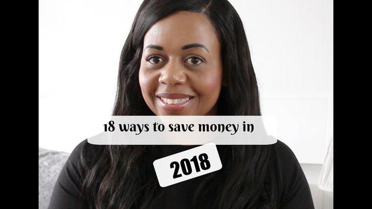18 Ways to save money in 2018