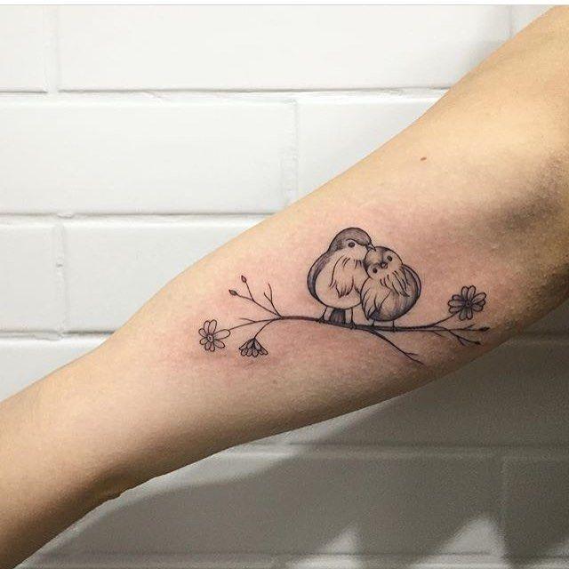 40 Beautifully Elegant Tattoos For Women Eternal Bird Love