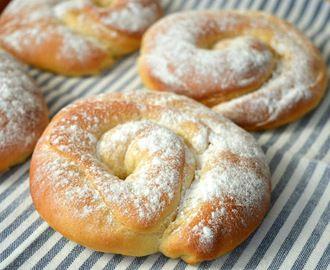 Ensaimadas - Spaanse opgerolde zoete broodjes
