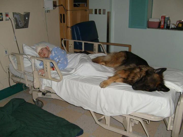I say it a lot... But this is why they call dogs a mans best friend. True love
