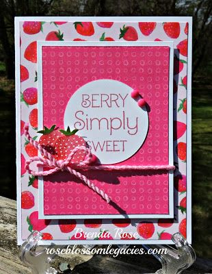 Rose Blossom Legacies: Taste of Summer Card Workshop