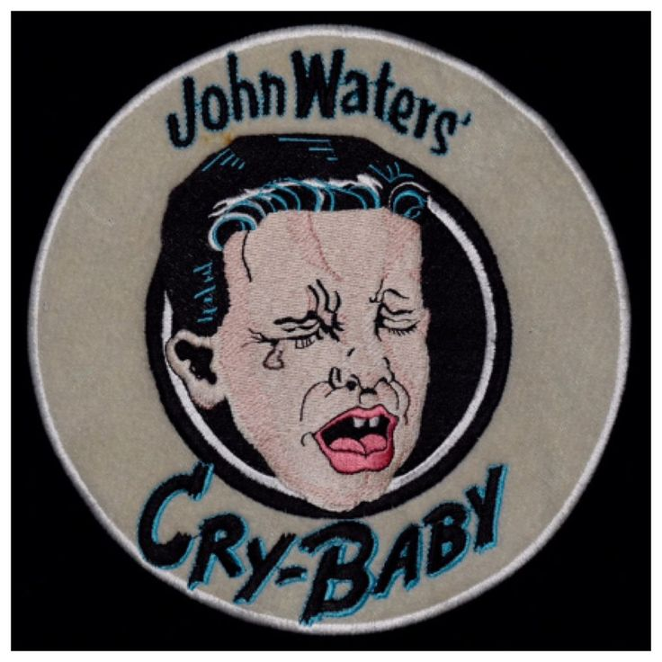 1990 CRY-BABY crew jacket vtg 90s shirt john waters film traci lords movie M  | eBay