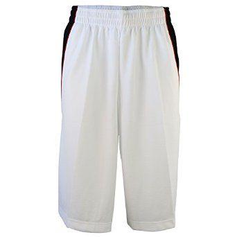 Nike Men's Jordan Basketball Shorts White-Black