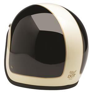 Biltwell - Bonanza LE Tracker Helmet - Black/White