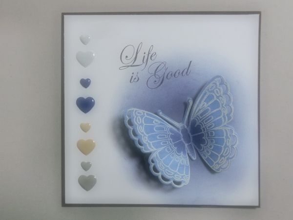 #Marianne Design Team ☆JP☆ #Marianne Design #card #butterfly #faber-castell