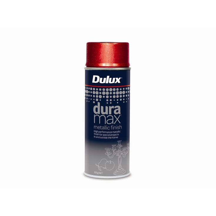 Find Dulux Duramax 325g Metallic Red Spray Paint at Bunnings Warehouse. Visit your local store for the widest range of paint & decorating products.
