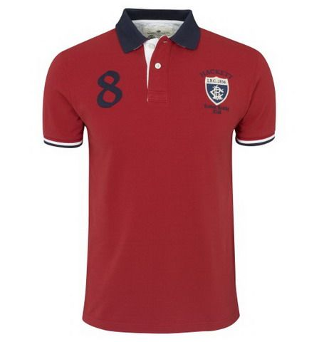 cheap ralph lauren polo Hackett London Rowing Club Applique Polo Shirt Red http://www.poloshirtoutlet.us/