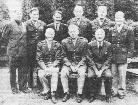 """13 May 1930: The first Japanese linguist, John Hurt, was hired by the U.S. Army's Signals Intelligence Service. Though he never studied Japanese formally or lived in Japan, he amazed people with his detailed knowledge of the language (which he had learned from a college roommate!).  In the photo: Hurt is standing - third from the left.  From the NSA PDF - """" Translator Extraordinaire"""" by Samuel S. Snyder  """"John Hurt made an invaluable contribution to the nation's cryptologic effort. His work…"""