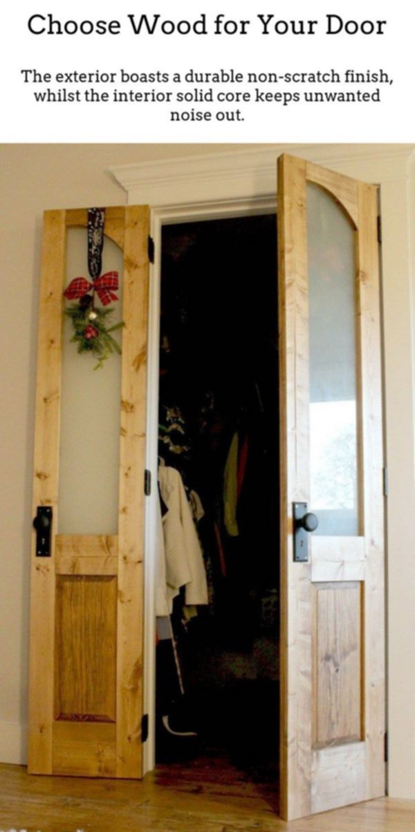 Wooden Doors Solid Wood Doors Are Wonderful If You Reside In A Period Property Or Home Or Desi Diy Interior French Doors Wood Doors Interior Old Closet Doors