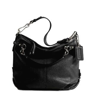 Coach Brooke Leather Hobo Maybe I need this.