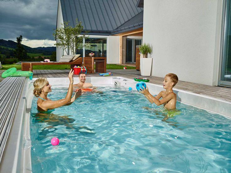 Die besten 25+ Pool bad Ideen auf Pinterest Pool-haus bad - pool mit glaswand garten