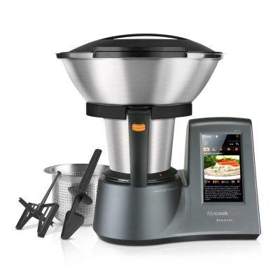 CHOLLAZO Taurus Mycook Touch robot de cocina por inducción por 799 €  Robot de cocina con tecnología smart y connectividad multidispositivo a través de Wi-Fi que le permite interactuar con tu smartphone o tablet. Pantalla táctil 100% personalizable, acceso a un número ilimitado de recetas, y dos modos de trabajo: modo manual, modo recetas guiadas.   #chollos #Cocina #comida #recetas #robot #primeday