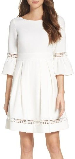 Women's Eliza J Bell Sleeve Dress