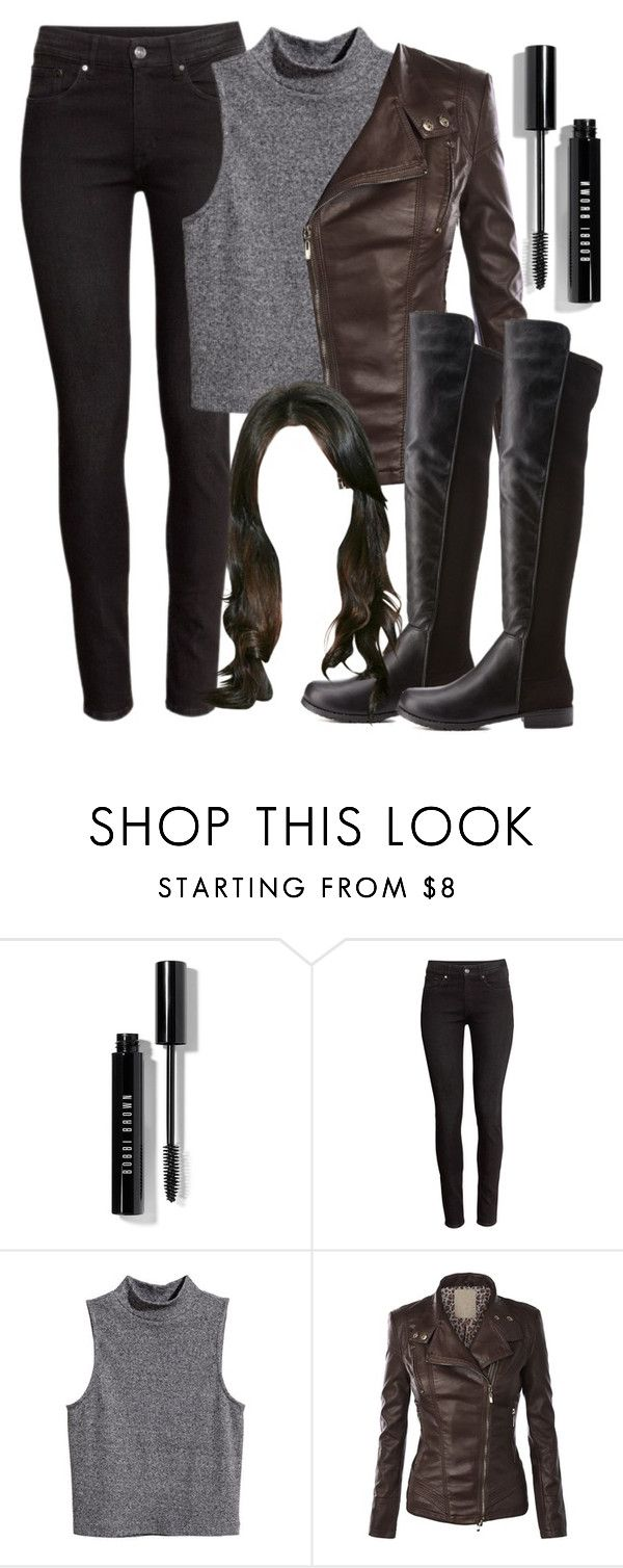 """Recreating Spencer Hastings' outfit from 5x01 ""EscApe From New York"""" by liarsstyle ❤ liked on Polyvore featuring Bobbi Brown Cosmetics, H&M, Bamboo, recreating and 5x01"