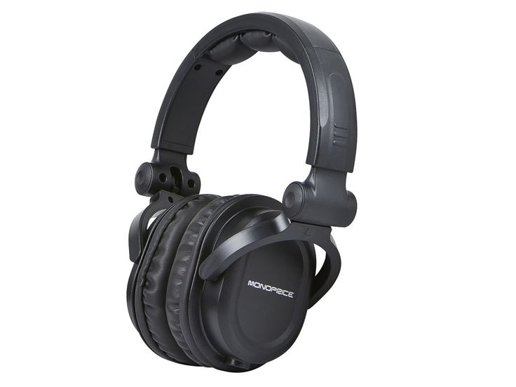 Or other good noise cancelling headphones for travel and work.    Premium Hi-Fi DJ Style Over-the-Ear Pro Headphone - Monoprice.com