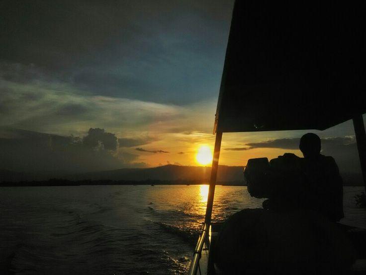 Sunset #rawapening #ambarawa