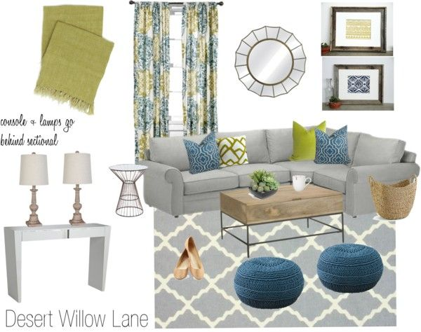 Best 20 gray living rooms ideas on pinterest - Blue green grey living room ...