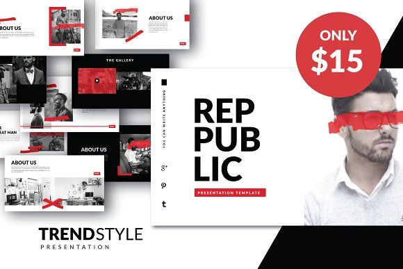 PUBLIC Creative Template Powerpoint by Dirtytemp Studio on @creativemarket