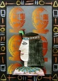 5-Painting/Printing-Egyptian Faces
