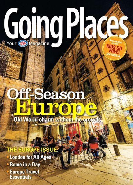 Going Places Magazine - Spring 2015