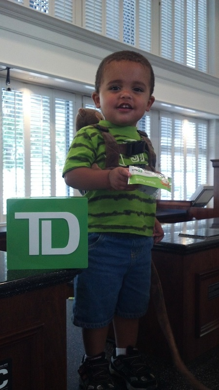 Today TD Bank, tomorrow the world!