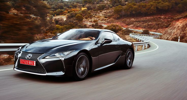 Here it is -- a full technical overview of the new Lexus coupe.