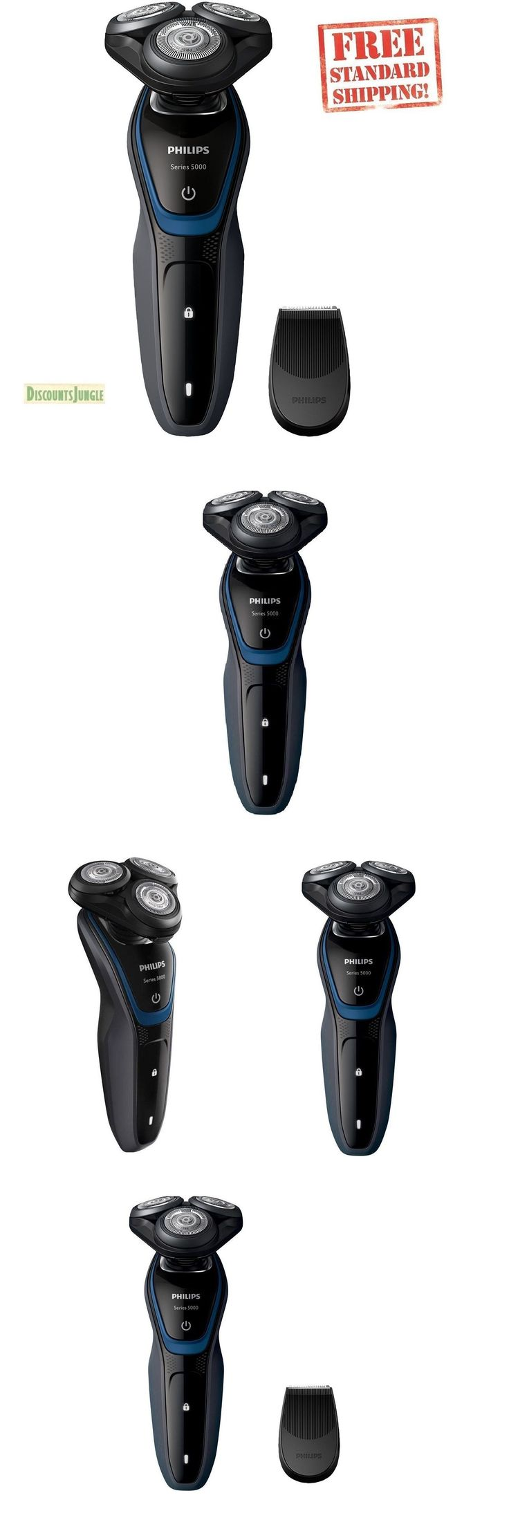 Mens Shavers: Philips Norelco Series 5000 S5100 Dry Electric Men Shaver Cordless S5210 81 5500 -> BUY IT NOW ONLY: $58.99 on eBay!