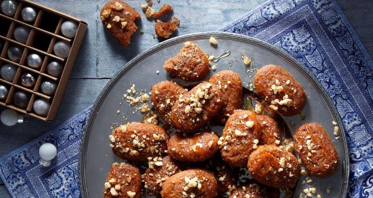 "These amazingly aromatic little cakes are a traditional Greek Christmas sweet…called ""Melomakarona"". Your house will be filled with aromas of orange, cinnamon, cloves… Each bite is so deliciously Christmassy…it will become an instant personal favorite!"