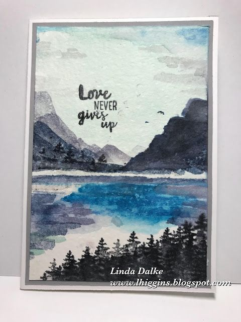 If you've been following along on either my Instagram or Facebook Business Page you will have noticed I've been producing quite a lot of these watercoloured landscapes lately. The reason for my sudde