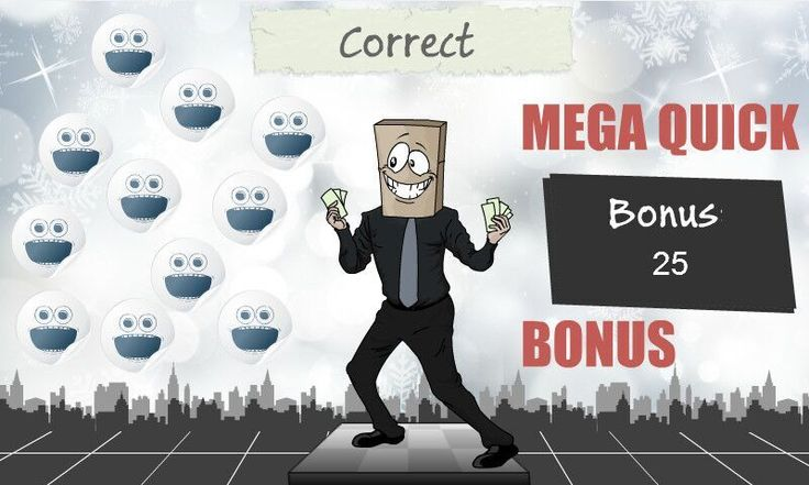 Bagman will not let you down! If you have the correct answer the mega quick bonus is yours!! Because we love games!