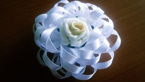 Wedding corsage wedding boutonniere with by Rocreanique
