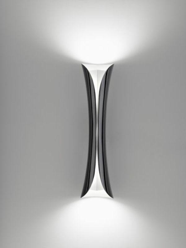 Moderne Wandlampen Führen Einen Sitlvollen Effekt In Den