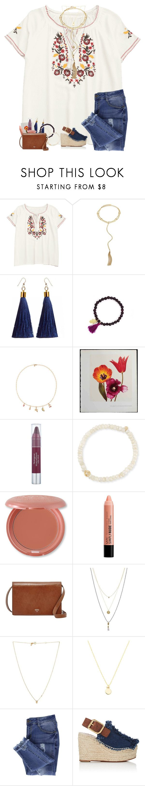 """""""Psalms 103:2-5"""" by livnewell ❤ liked on Polyvore featuring Ettika, Feather & Stone, Sydney Evan, Neutrogena, Stila, FOSSIL, Towne & Reese, Essie and Chloé"""