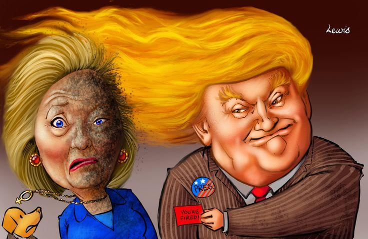 Trump defeats Hillary