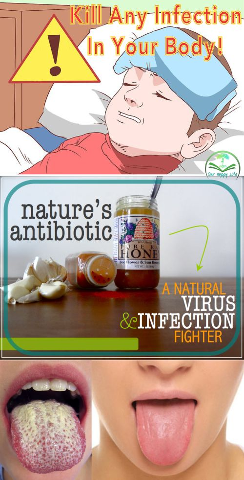 Nature's antibiotic: A natural virus & infection fighter #antibiotics #infection #protection #remedies