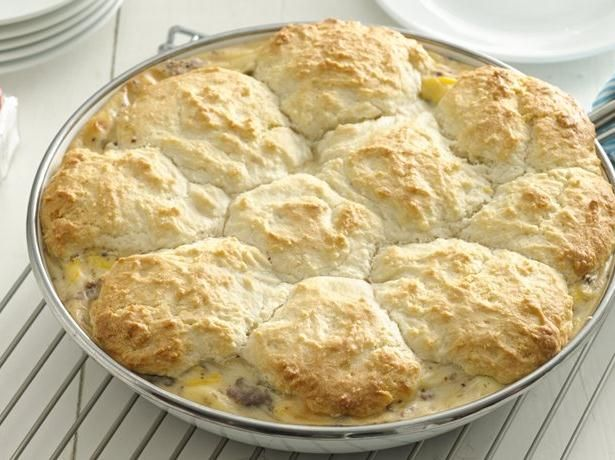 Biscuits & Sausage Gravy Skillet is a 2013 Bisquick Family Favorites Recipe Contest award-winning recipe developed by Ashley Patterson, 3rd Place, Ohio State Fair (Columbus, OH).
