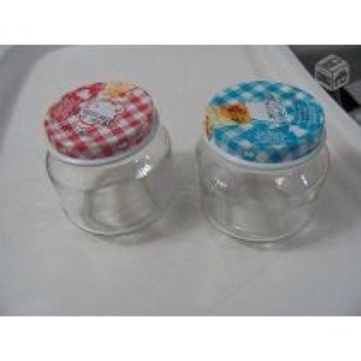 potinhos de vidro com tampa nestlé